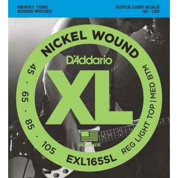 D´addario EXL165SL Super Long Scale cuerdas para bajo
